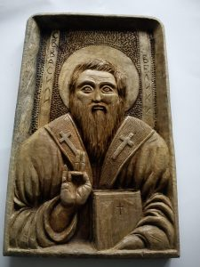 Св.Василии,материал-орех
